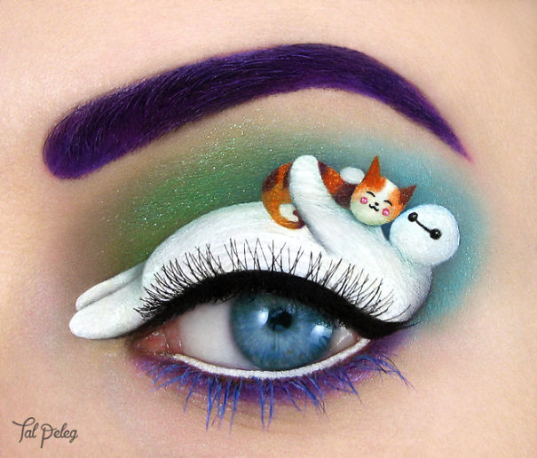 Artist Uses Her Eyelids To Create Beautiful Pieces Of Art Colorli Com