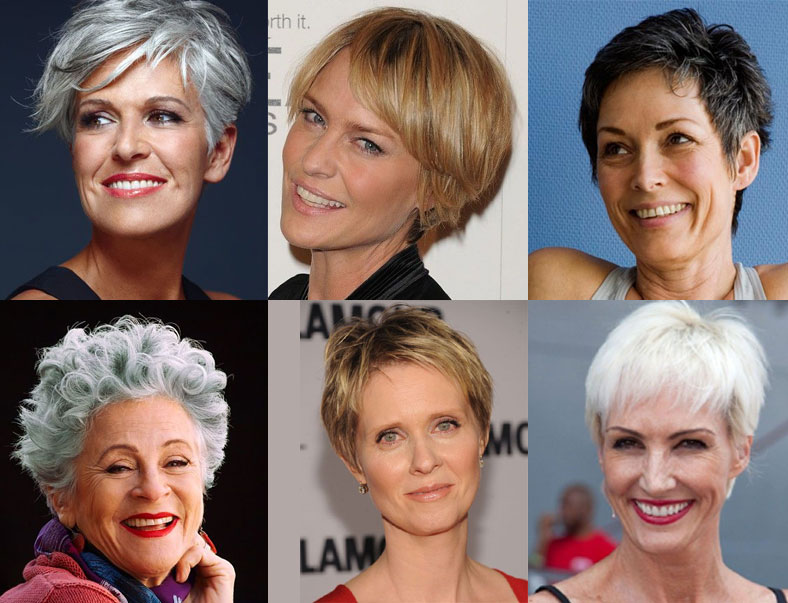 23 Great Short Haircuts for Women Over 50 – Colorli.com